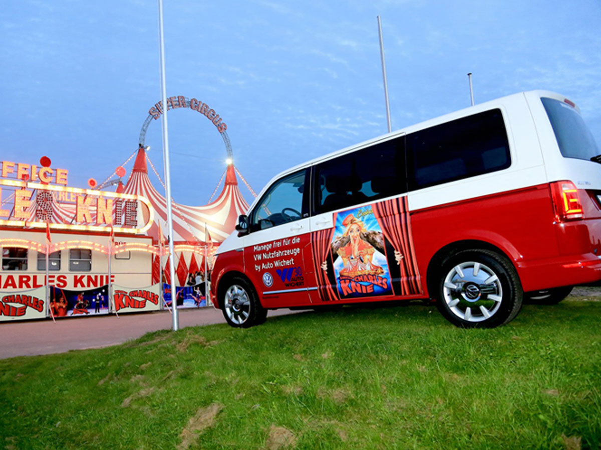 Super Circus Vehicle Wrap